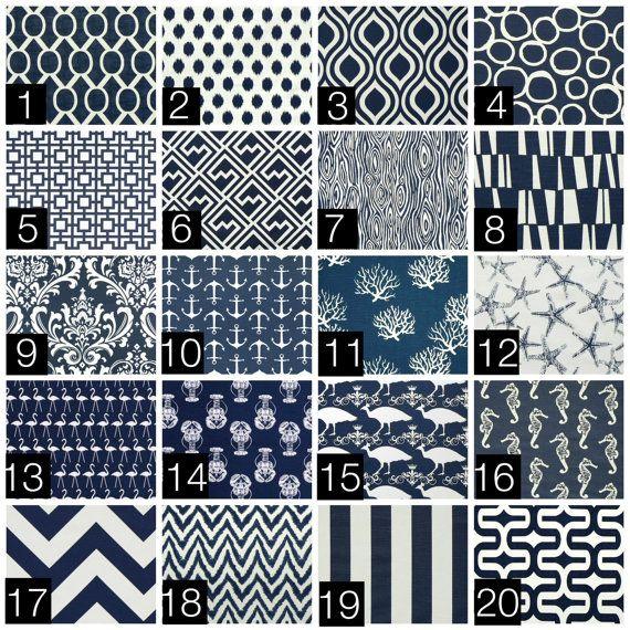 Navy Blue Curtain Panels. 25 or 50 Inch Widths. 63, 84, 96, 108, 120 Lengths. Deep Blue Window Treatments. Drapery Curtains.
