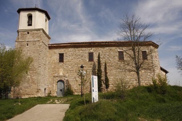Iglesia de Villambistia, Burgos, Camino de Santiago