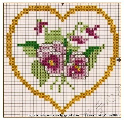 Heart, Coeur, Corazon, Cuore, Coração - LovingCrossStitch - Picasa Web Albums