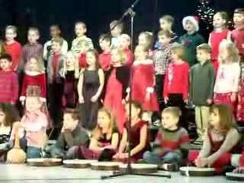 "Lindsey's Xmas Program Song 1 ""African Noel"" - YouTube"