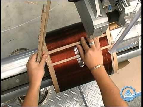 (3) Wire Winding Machine BOB FPN live - YouTube