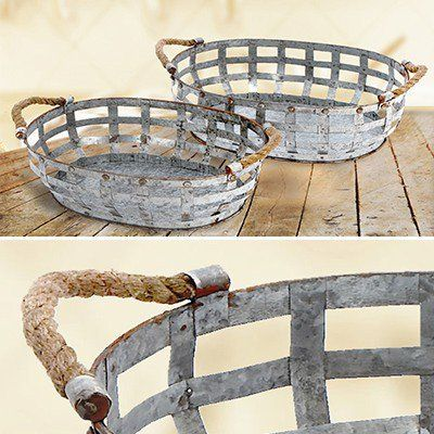 Best 25+ Vintage Wire Baskets Ideas On Pinterest | Wire Basket Storage, The  Tractor Store And Dish Display
