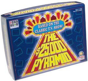 Amazon.com: $25,000 Pyramid Board Game - Game Show Network: Toys & Games