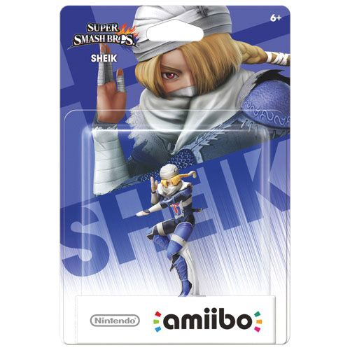 amiibo Super Smash Bros Sheik