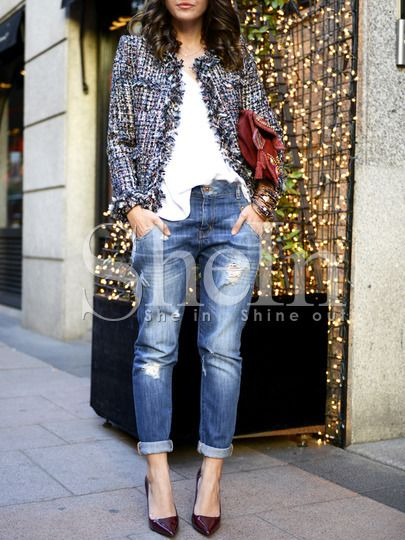I am Style-ish {Seattle Fashion and Beauty Blog}: Lookbook: Winter Tweed Jacket