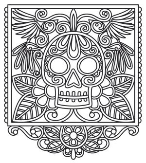 It's just a photo of Crafty Papel Picado Templates Printable