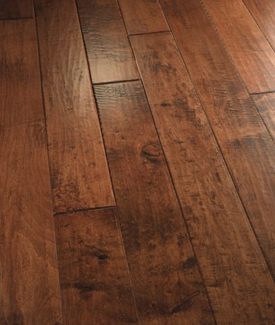 100 Hand Scraped Hardwood Flooring Floors Pinterest