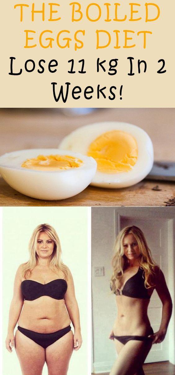 The Boiled Eggs Diet Lose 11 Kg In 2 Weeks!