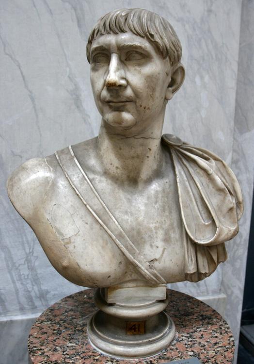 Busto Del Emperador Trajano 103 117 D C En Los Museos
