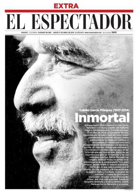 """El Espectador >El maestro Gabriel García Márquez falleció ayer en México, a los 87 años, en una tarde de jueves santo que de ahora en adelante los colombianos y los amantes de la literatura recordarán siempre. Gabo se ha ido, pero nos dejó muchas lecciones, y sus obras """"le sobrevivirán y seguirán ganando lectores"""", como refirió Mario Vargas Llosa tras el deceso.</p>"""