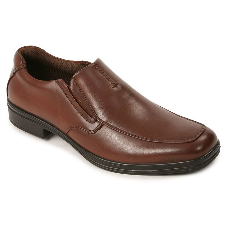 Deer Stags 902 Collection Fit Men's Dress Loafers, Size: medium (10.5), Brown