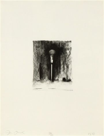 Ten Winter Tools (Awl) by Jim Dine