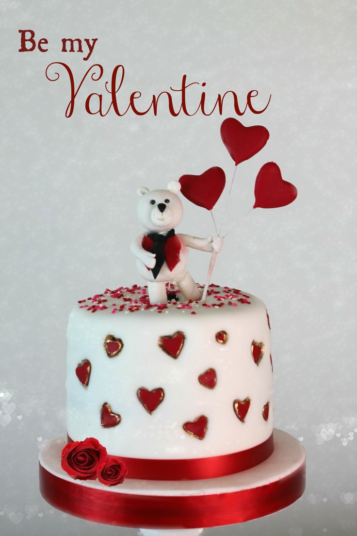 1158 best Valentines Day Cakes images on Pinterest Cake wedding