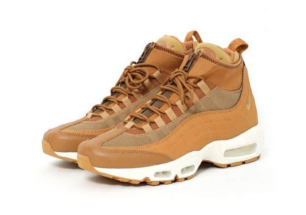 Nike Air Max 95 Sneakerboot Flax 806809-201 #thatdope #sneakers #luxury #dope #fashion #trending