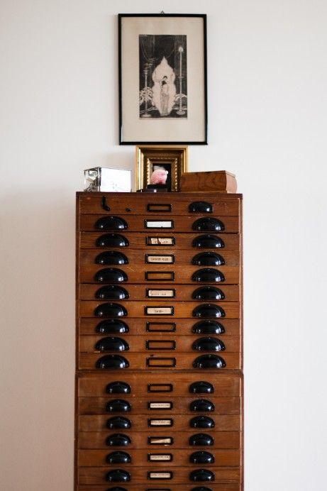 /: Decor, Vintage Storage, Filing Cabinets, Art Journals, File Cabinets, Modern Industrial, Art Storage, Drawers Cubbies, Industrial Design