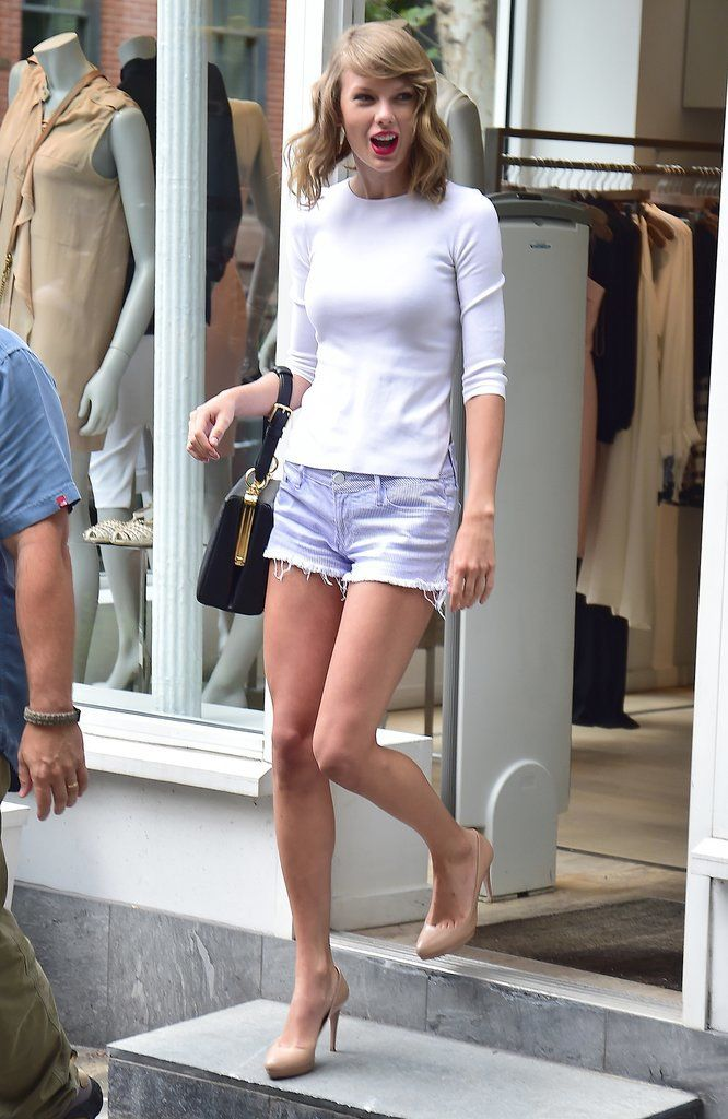 How cute was #TaylorSwift in NYC?
