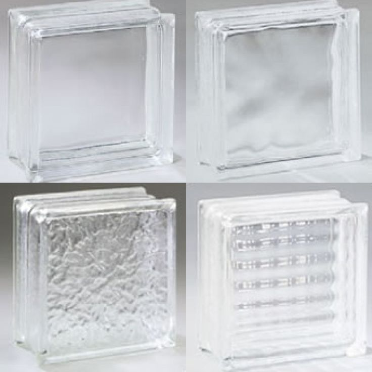 clear  frosted and textured glass block. 25  unique Glass block sizes ideas on Pinterest   Glass block