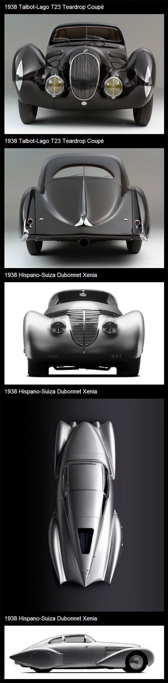 concept cars of the 30s