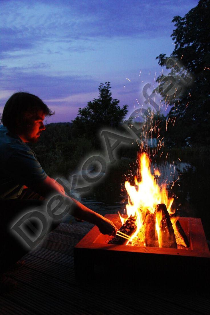 Kuschelig warm mit Edelrost Feuerschalen – heute Abend ein Lagerfeuer