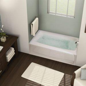 Elegant Standard Bathtub Size A Comprehensive View