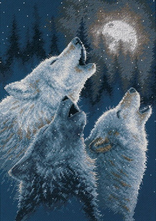 In Harmony Cross Stitch by Collin Bogle
