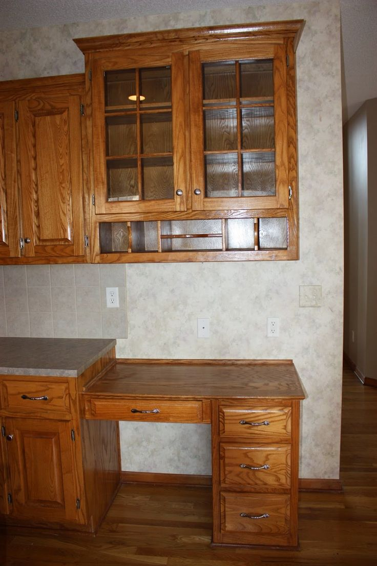 30 best images about gotta sell this house on pinterest craftsman houses this old house and - Painting wood veneer kitchen cabinets ...