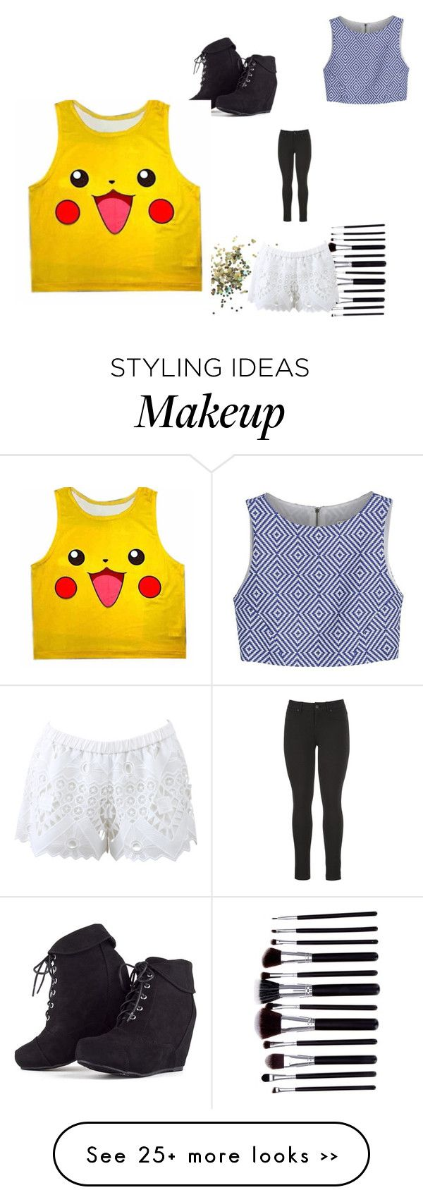 """""""Untitled #3009"""" by brittklein on Polyvore featuring maurices, Topshop, Alice + Olivia and Alexis"""