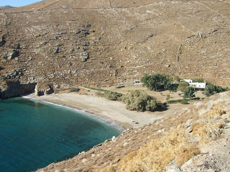 Kea 6S Kea, Greece  Nestled into a cove on tiny Kea, in the Greek Cyclades, this villa is the only house for miles around. Its exquisite pool area and shady eucalyptus trees make for the ultimate hideaway. And, let's be honest, the private, secluded beach virtually commands you to go skinny-dipping in the sapphire water. From $18,500 a week