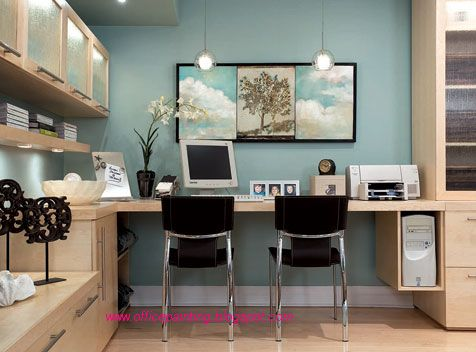 Office paint color schemes office paintingoffice interior painting