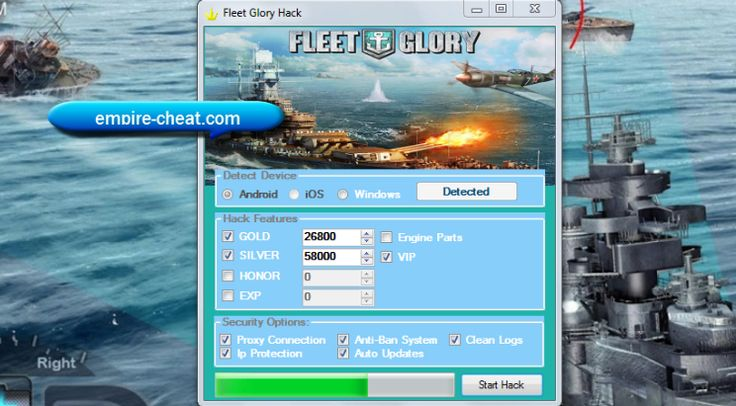 fleet glory hack cheat tool generator       Fleet Glory is a third-person shooting themed game as soon as the background air of World War II battles. The performer commands a battleship and along as soon as subsidiary players in battleships to organization going on and scuffle gone local teams vis--vis random maps to enter upon victory.  Battleships stock, pick the strongest warship of your own.