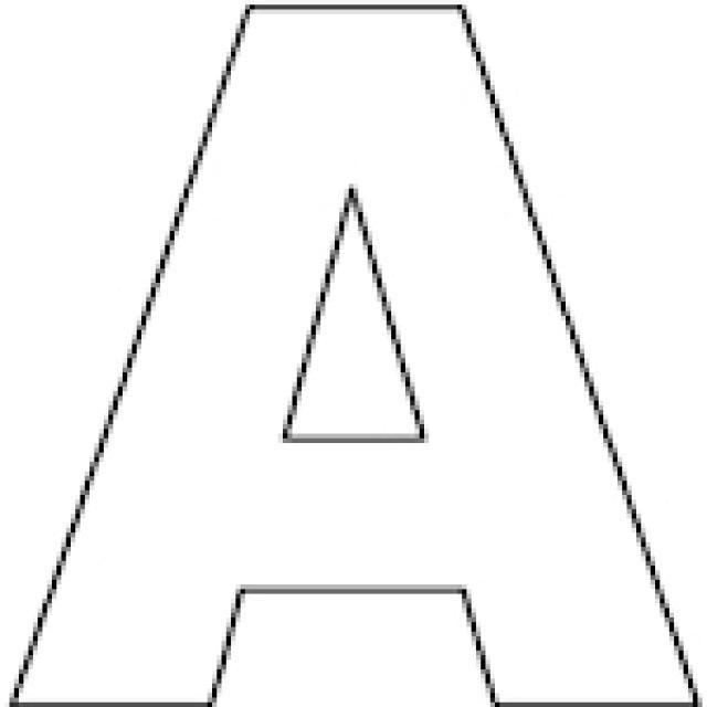 Best 25 Alphabet coloring pages