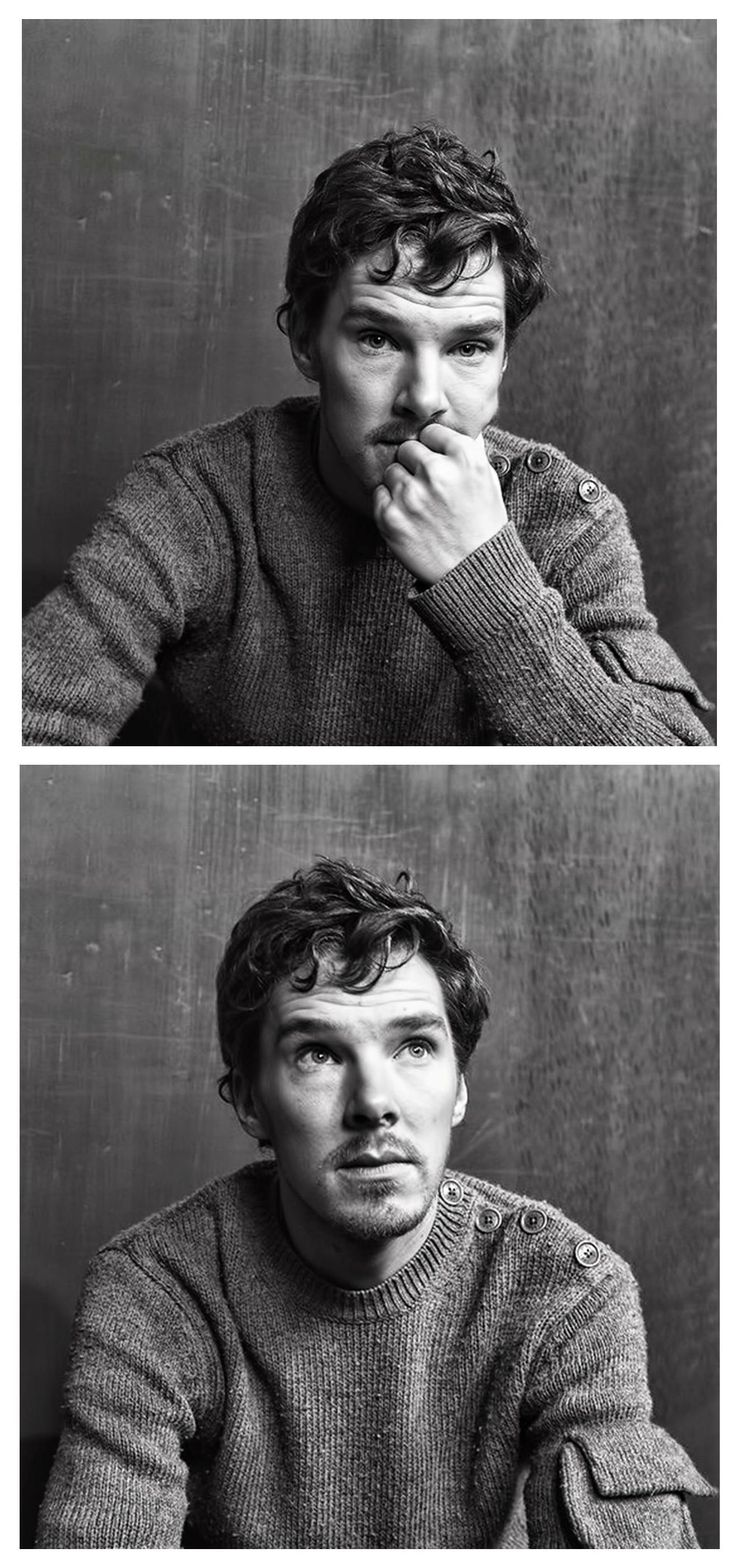 Not new, but some of my favorite pictures of Benedict Cumberbatch.