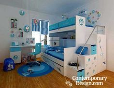 Double deck bed designs for small spaces. Attractive children's bunk beds  are difficult to find