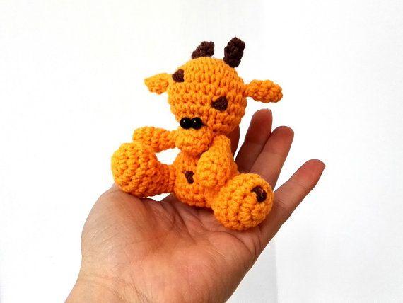 Crochet amigurumi giraffe crochet giraffe by Crochet4yoUBG on Etsy