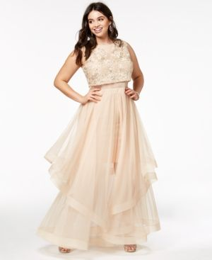 Trendy Plus Size Prom Dresses - Say Yes To The Prom Plus Size ...