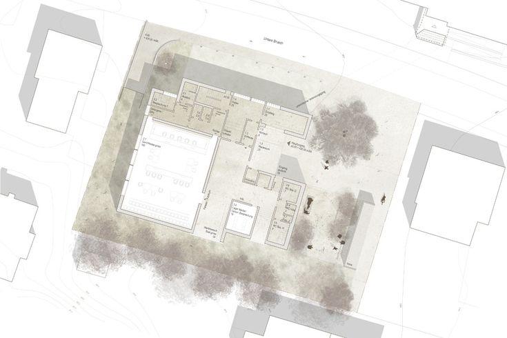 raumfindung Architekten . District Court Extension . Meilen (9)