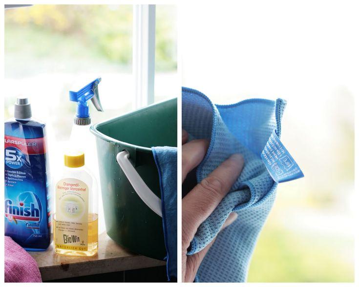 3 Schritte für streifenfreie Fenster
