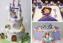 Tortas de princesa Sofia con originales decoraciones