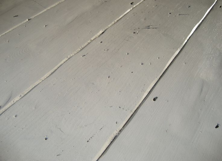 Hand painted original pine floorboards | Lawsons Traditional Timber