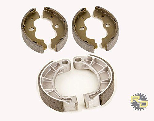1998 1999 2000 2001 2002 Honda TRX 450 S Foreman Front And Rear Brake Shoes %SALE% #carscampus
