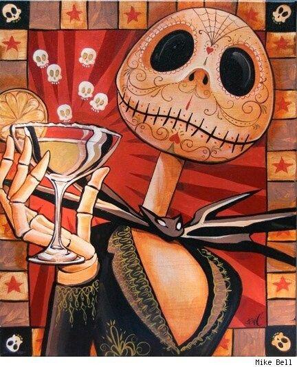 Jack sugar skull