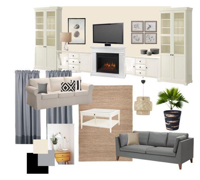 B nappali 1 by reka-palyi on Polyvore featuring interior, interiors, interior design, home, home decor, interior decorating, Alphason, Uttermost and BRIO