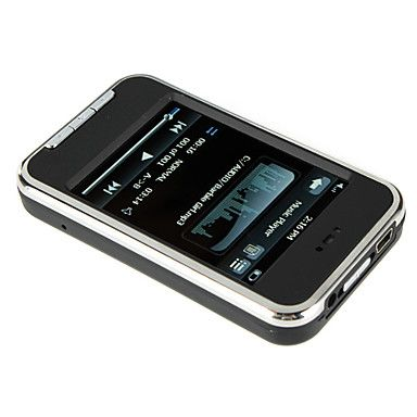 2.8 Inch Touch Screen MP5 Player FM/Camera/Voice Recorder 4GB – USD $ 19.99