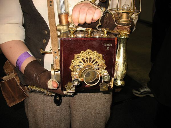 """steam punk camera 