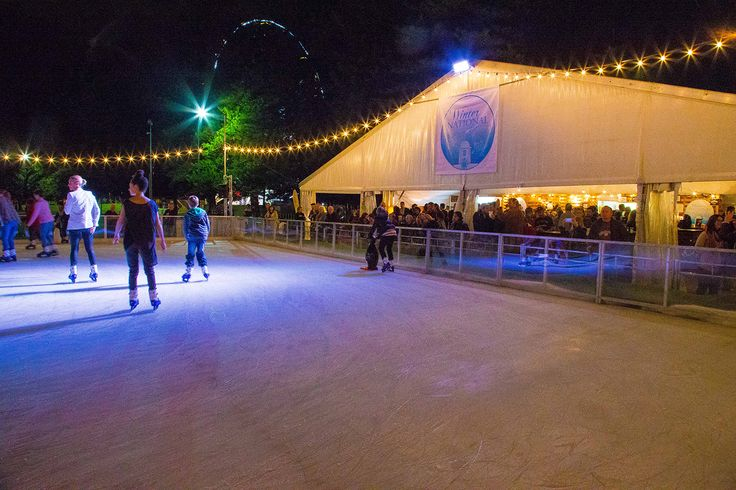 Winter family fun at the Winter Garden Fremantle Festival. Sip mulled wine at the National Hotel's pop up bar, listen to live music and watch the ice skating! Or even ice skate!