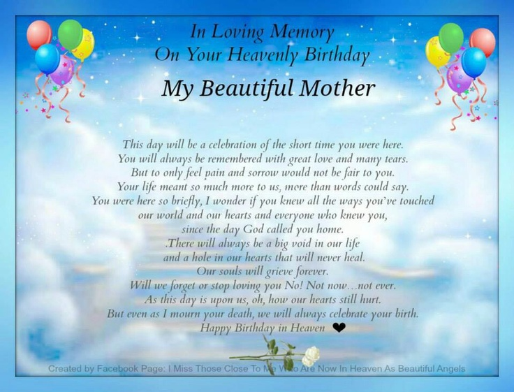 Happy 40th Birthday In Heaven Quotes: 1000+ Images About Happy Birthday In Heaven On Pinterest