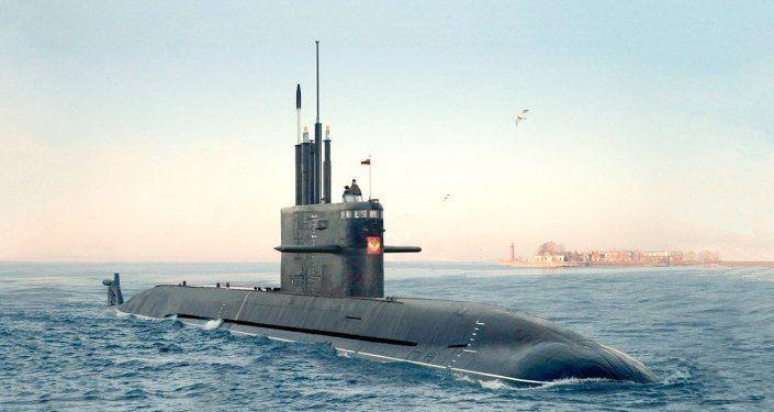 Submarino ruso Amur 1650