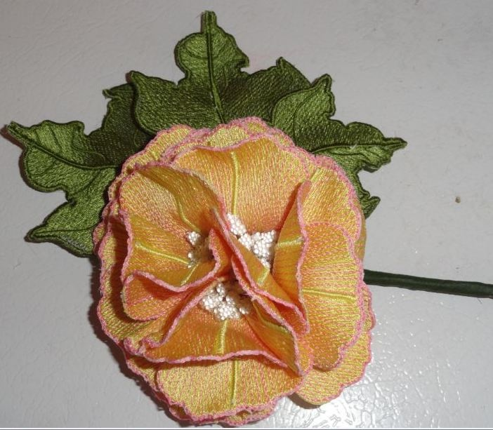 Pam s confederate rose machine embroidery d