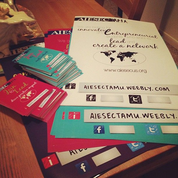 AIESEC Recruitment. Photo by laughterislife