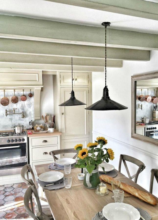 Rustic Elegant French Farmhouse Design Ideas Part 2 Hello Lovely French Farmhouse Kitchen French Country Decorating Country House Decor